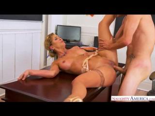 Cherie Deville – My First Sex Teacher [NaughtyAmerica. HD 1080, Big Ass, Big Tits, Blonde, Feet, MILF, Stockings]