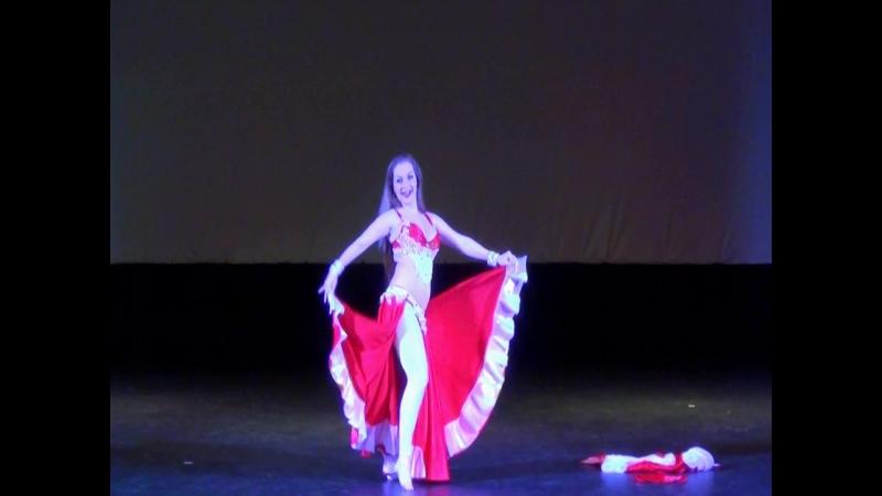 Русский восточный танец Джейла шоу танец живота