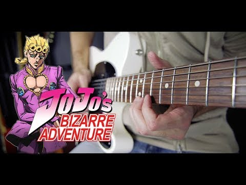 JoJo's Bizarre Adventure: Golden Wind - Fighting Gold (Opening) Guitar Cover by 94Stones