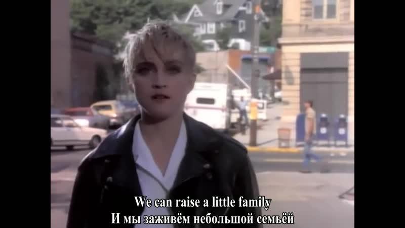 Madonna - Papa Don't Preach [RUS - ENG SUBT]
