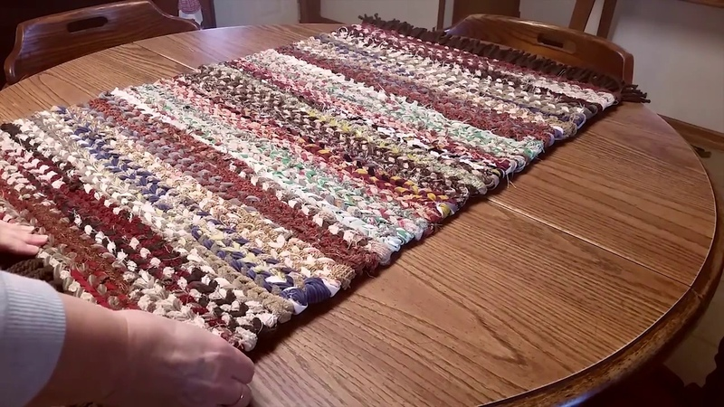 How To Finish A Woven Rag Rug