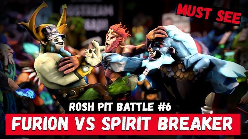 ROSH PIT BATTLE 6 | NATURE'S PROPHET vs SPIRIT BREAKER | DOTA VERSUS RAP BATTLE