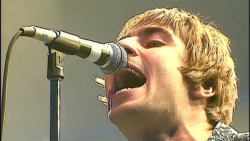 OASIS ★ SUPERSONIC (Live At Earls Court, London 04/11/1995) | HD