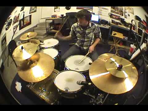 A Boy Brushed Red... Living in Black and White- Drum Cover