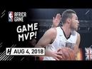 Danilo Gallinari Full Highlights vs Team Africa (2018 NBA Africa Game) - 23 Pts, 8 Reb, MVP!