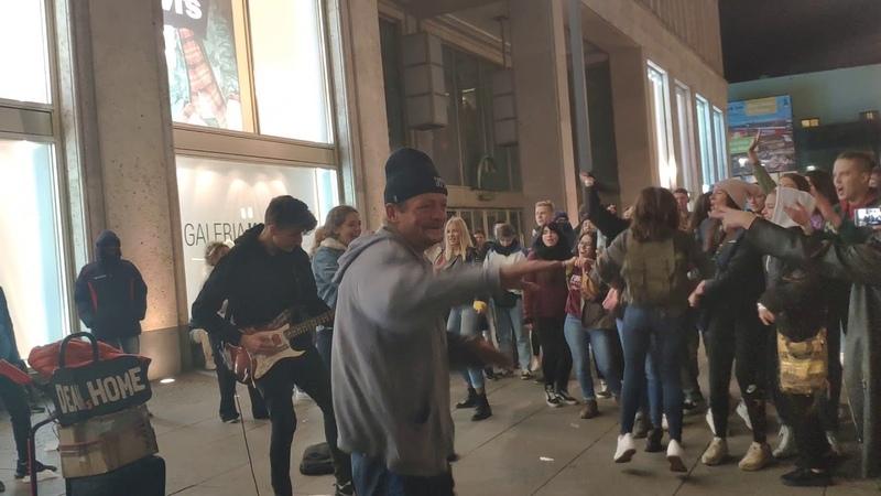 AlexanderPlatz street Performers in Berlin Germany - 3