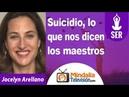 Suicidio, lo que nos dicen los maestros por Jocelyn Arellano