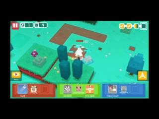 Прохождение Gloomy Growe 2-2 Pokemon Quest