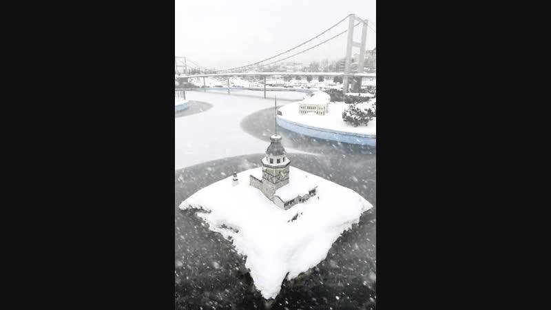 Istanbulda kar