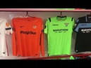 Indumentarias oficiales del Sevilla FC-SS Lazio