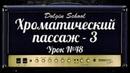 Хроматический пассаж (3) - Уроки игры на электрогитаре №48 Dolgin School