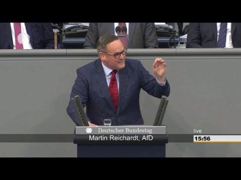 AfD - Martin Reichardt liest den Linken die Leviten: Blinder Dogmatismus