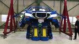 全長4mの変形ロボ「J-deite RIDE」ロボットからクルマに変形 J-deite RIDE From robot mode to vehicle mode01