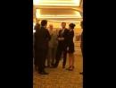 VIDEO princeharry duchessmeghan meet @HamiltonMusical creator Lin-Manuel Miranda and wife .mp4