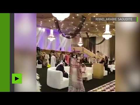 Arabie saoudite des drones remplacent les femmes pour un défilé