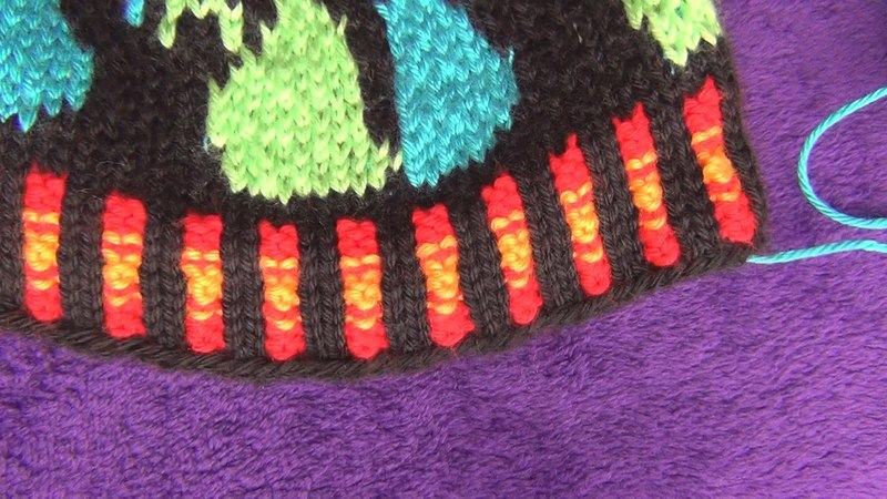 How to Knit Corrugated Rib