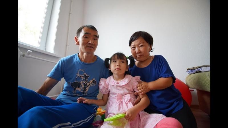 Самая маленькая женщина в Бурятии получила квартиру