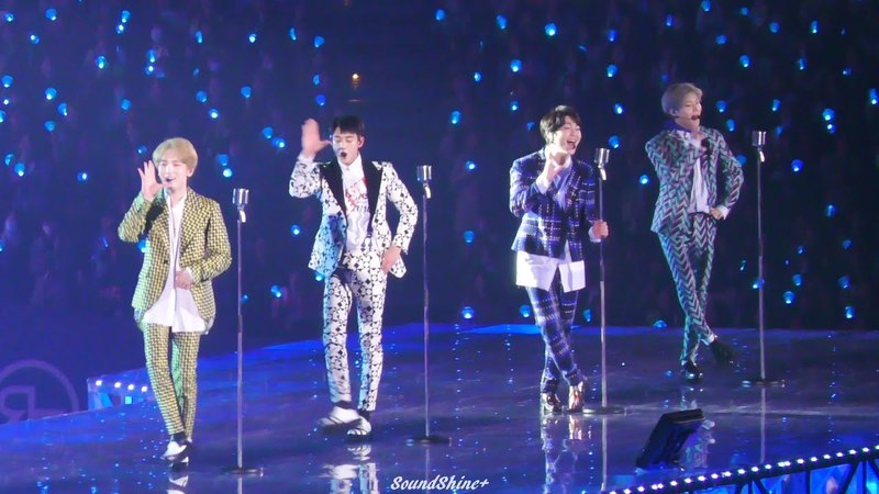 180217 Hello [SHINee WORLD THE BEST 2018~FROM NOW ON~] Osaka