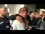 Скандальный Шеннон Бриггс встретился с Александром Поветкиным на взвешивании #ДжошуаПоветкин.