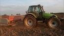 Sowing winter raps Deutz-Fahr Agrotron 6.45 S Kongskilde Deemeter Combiseed HT3000S