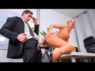 Victoria pure - intense fuck fest with office babe victoria pure (blowjob, blonde, natural tits, all sex, toy)
