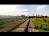 Электровоз ЭП1М-605 Россия, Волгоградская область, перегон Ельшанка - Бекетовская. Автор Belka Belikov