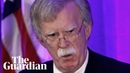 John Bolton strongly criticises International Criminal Court