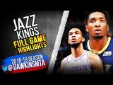 Utah Jazz vs Sacramento Kings Full Game Highlights October 11, 2018 FreeDawkins