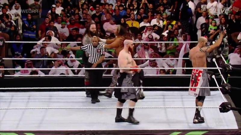 (WWE Mania) Bray Wyatt and Matt Hardy vs (c) Sheamys and Cesaro (Greatest.Royal.Rumble 2018)