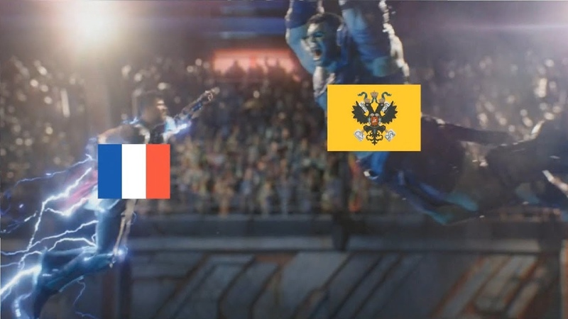 [EU4] When France Meets Late Game Russia