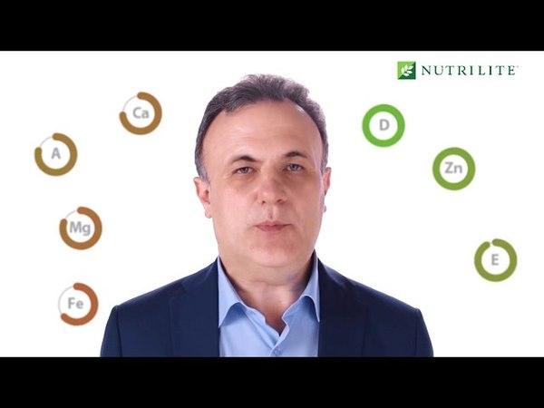 Заполни пробелы своего рациона вместе с NUTRILITE™ DOUBLE X™