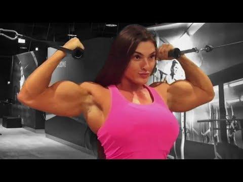 Jessica Sestrem | SUPER BIG GIRL | UNBELIEVABLE BICEPS 💪