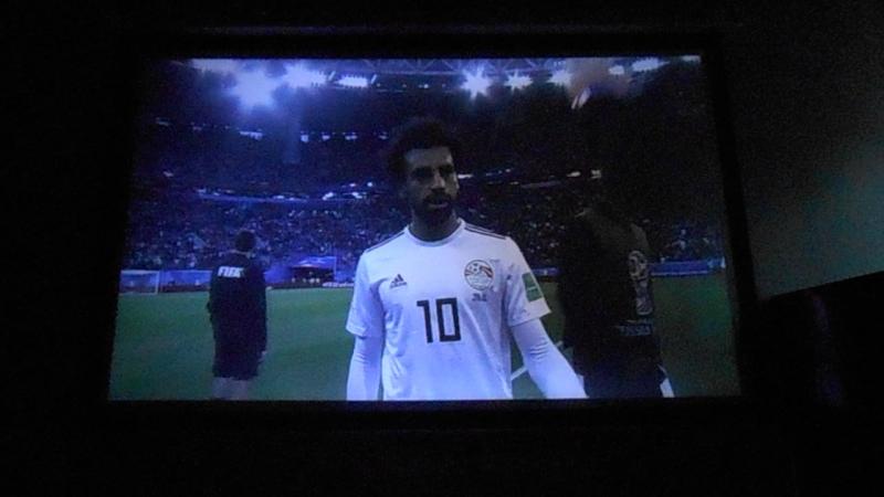 Россия-Египет пока 0-0 Футбол дома HD Проектор