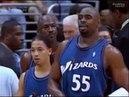 2003 NBA. Washington Wizards vs Los Angeles Lakers