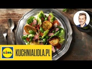 Sałatka z rostbefem i z pesto bazyliowym - Karol Okrasa - Przepisy Kuchni Lidla