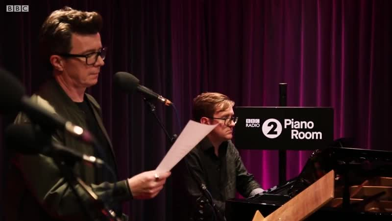 Rick Astley - Promises (Calvin Harris Sam Smith cover) Radio 2 Piano Room