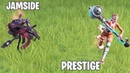 САМЫЙ ЛУЧШИЙ БАГ В ФОРТНАЙТ ! w/ Jamside,Prestige