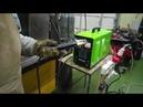 Сварочный инвертор Torros ARC 250 380V. Сварка стали 7мм, угловой шов электродом 4мм