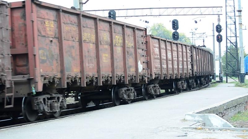 Вл8м-303 проследовал ст.Запорожье-2 с грузовым Зацеперы на вагонах!