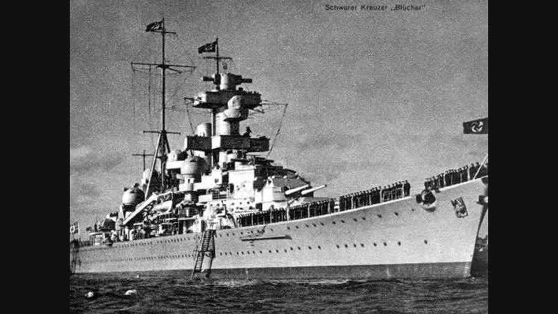 Легендарный немецкий линкор Бисмарк
