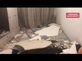 В Академическом обвалился потолок, чуть не убив хозяев квартиры