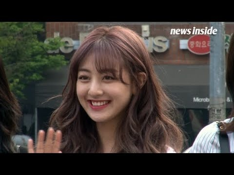 [SSTV] 트와이스(TWICE), 꽃미소의 정석 '트둥이'♥ What's LOVE (뮤직뱅크)