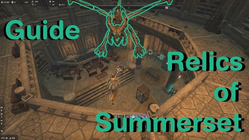 ESO - Relics of Summerset achievement guide (Summerset Chapter)