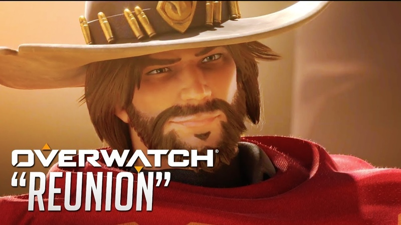 "OVERWATCH Official Animated Short ""Reunion"" - Ashe Reveal 
