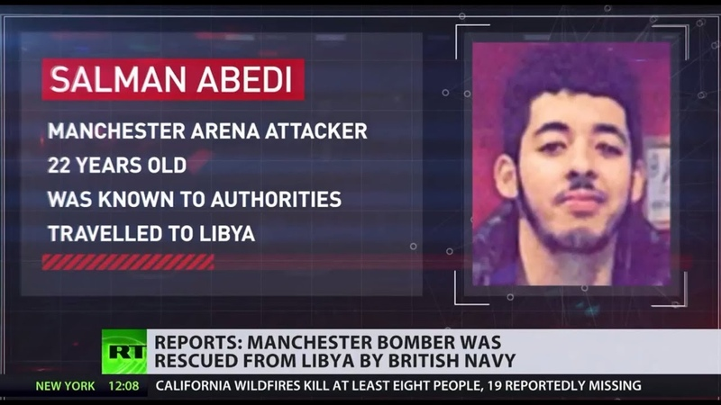 Manchester Arena suicide bomber rescued from Libya by Royal Navy before attack - report