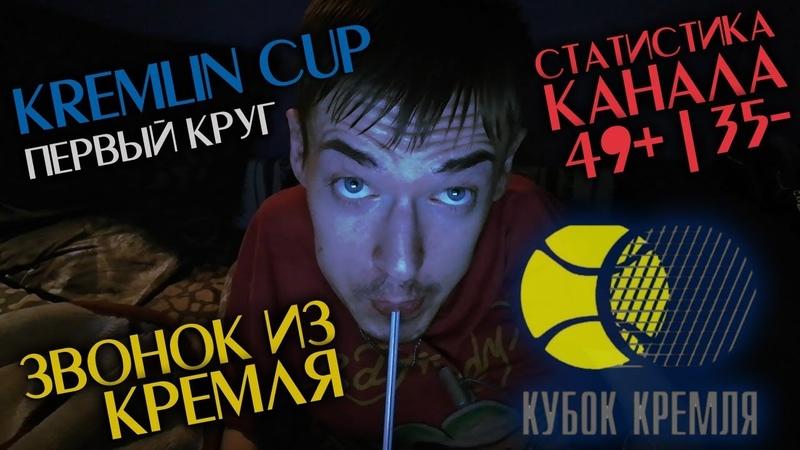 Теннис. Кубок Кремля. Младенович - Калинская. Звонок из Кремля