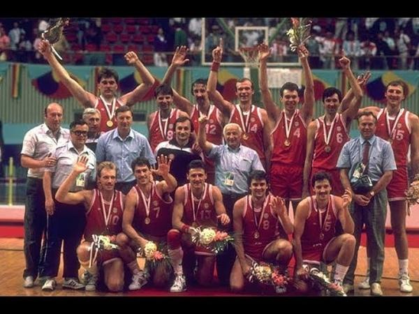 Олимпиада в Сеуле 1988 СССР-США баскетбол, полуфинал/ 1988 Basketball USA USSR