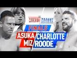 ммч-1х12 | Аска и Миз против Бобби Руда и Шарлотты
