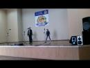 это я пою с подругами Ариной и Леной на конкурсе Звезды Каменного брода