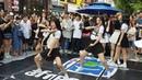 180721 랜덤 플레이 댄스 (네이처) - 춤추는 곰돌 홍대 버스킹 게스트 직캠